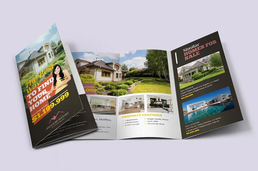 Real Estate Tri-fold Brochure Template - 5 Tips to Make Great Real Estate Brochure Designs
