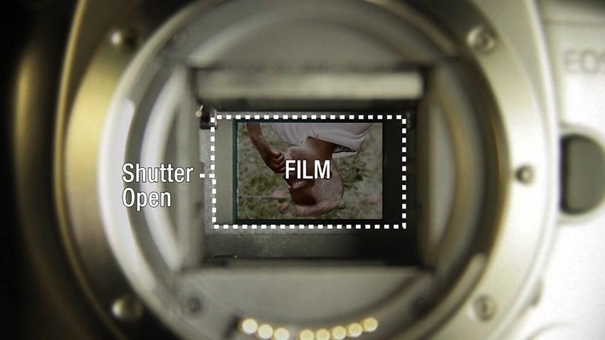 Film in a camera