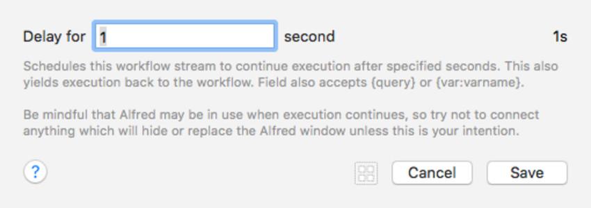 Delay Workflow Element