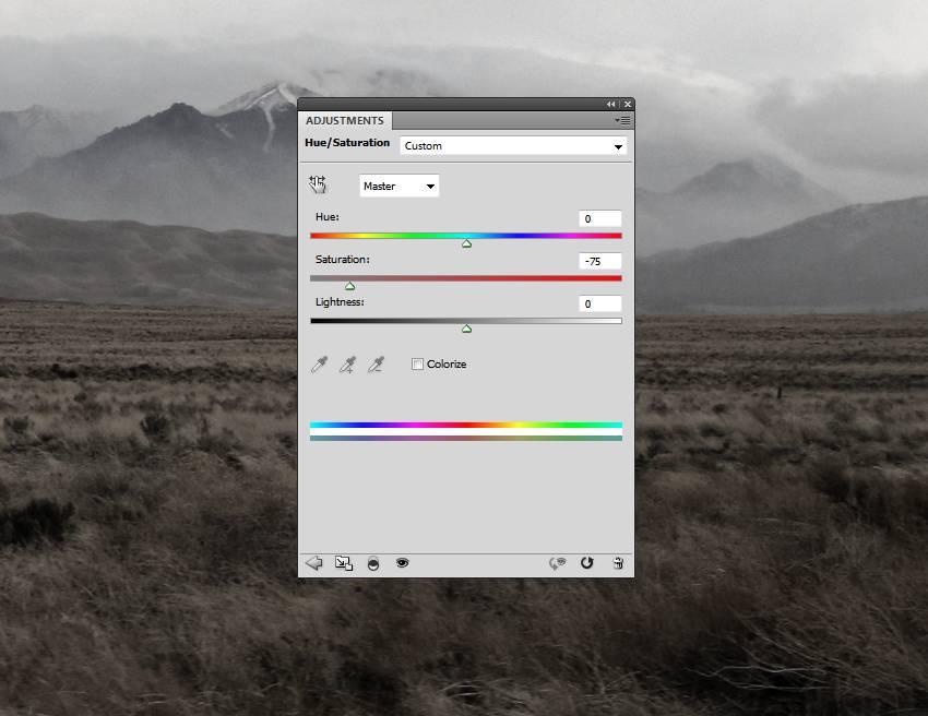 ground hue saturation