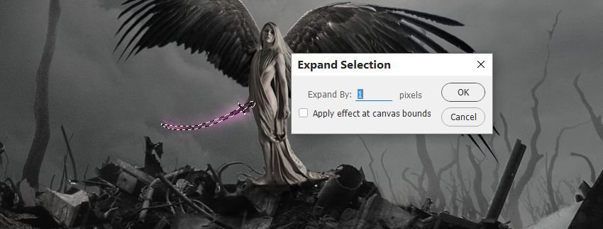 expand sword selection