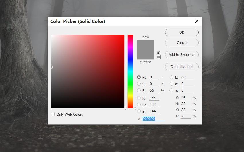 whole scene color fill 1