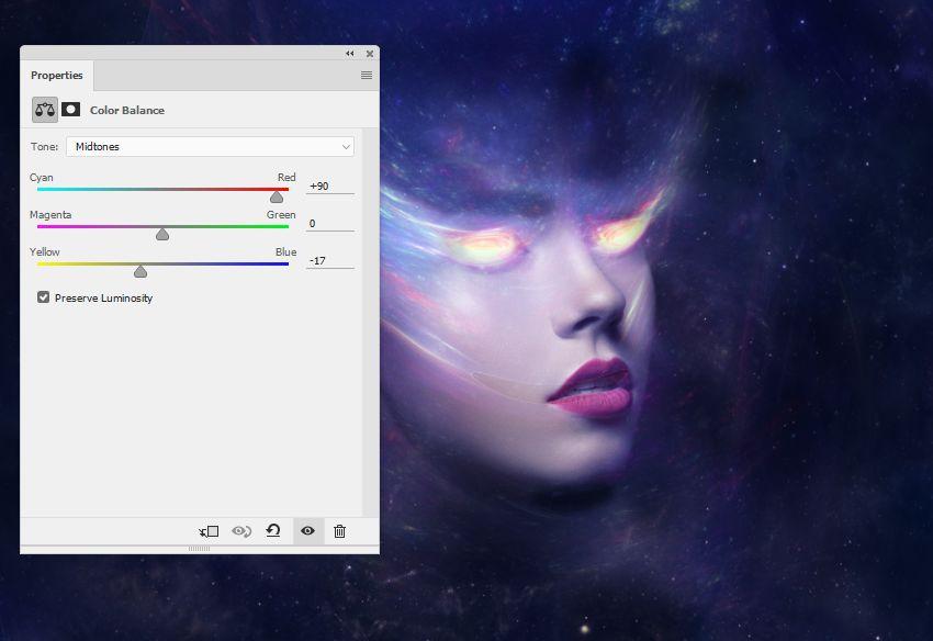nebula 1 color balance midtones
