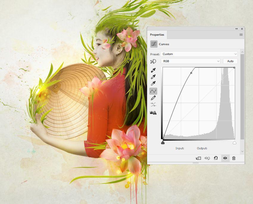 bokeh curves adjustment layer