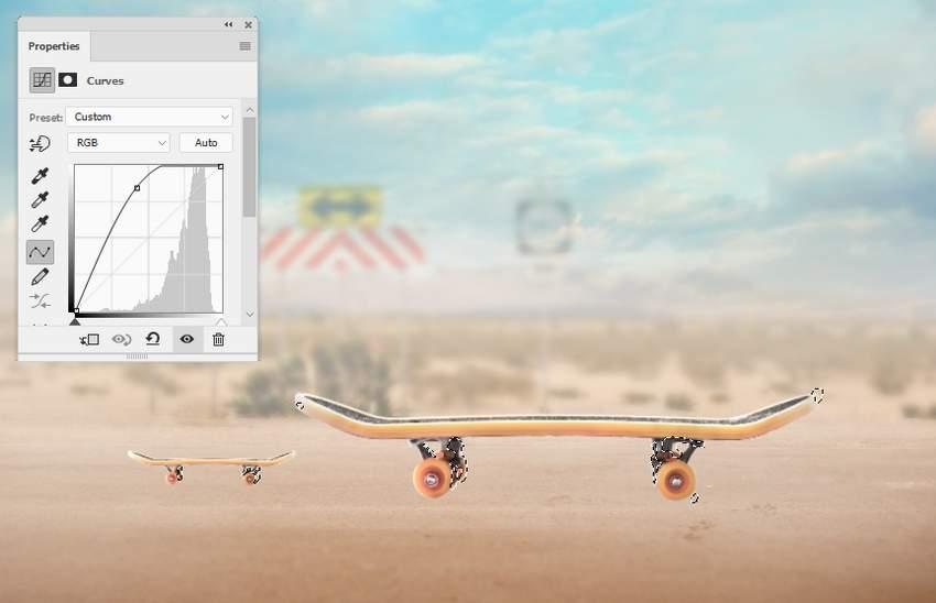 skateboards curves