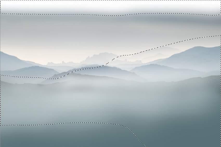duplicated mountains masking