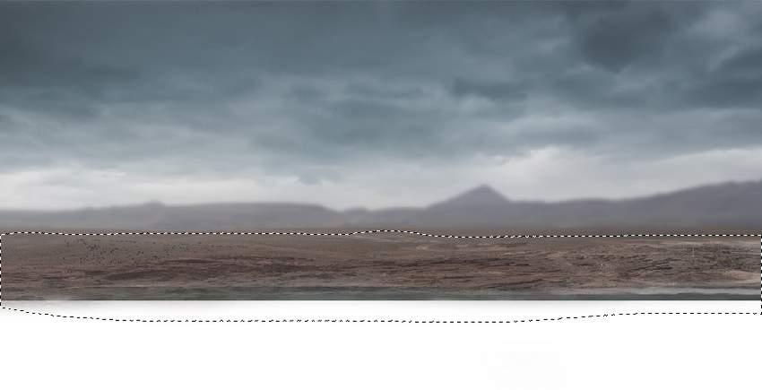 landscape gaussian blur masking