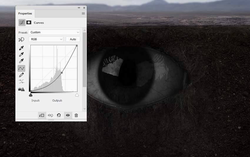 eye curves