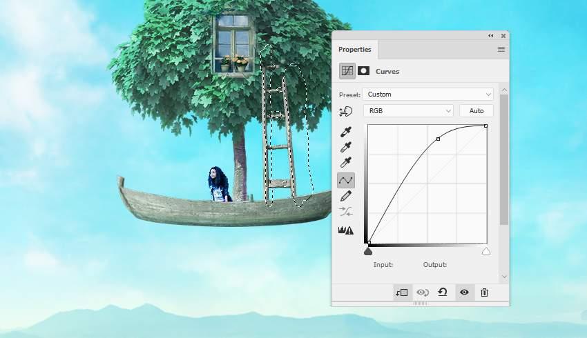 boat photomanipulation - ladder curves 1