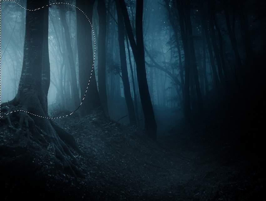 fantasy digital art  -curves masking