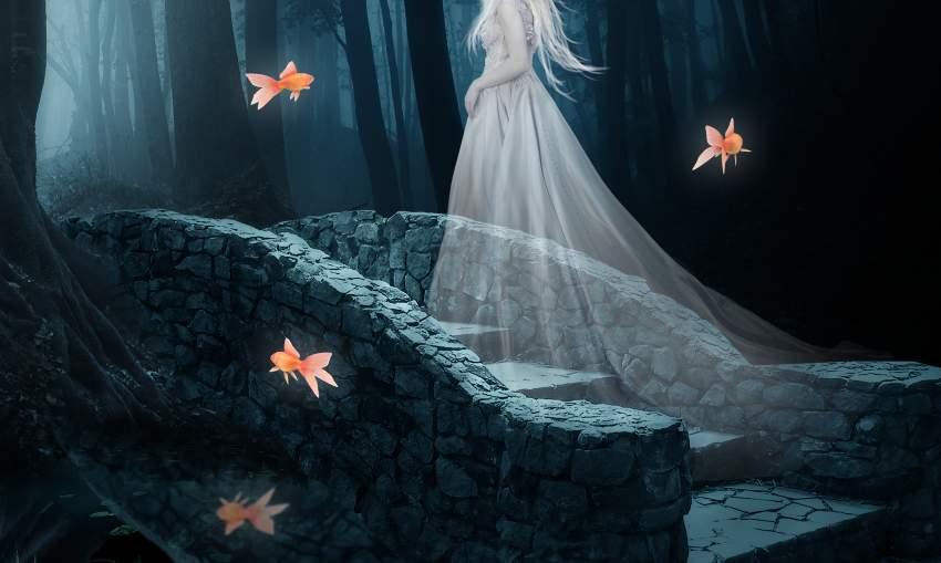 fantasy digital art - fish effects result
