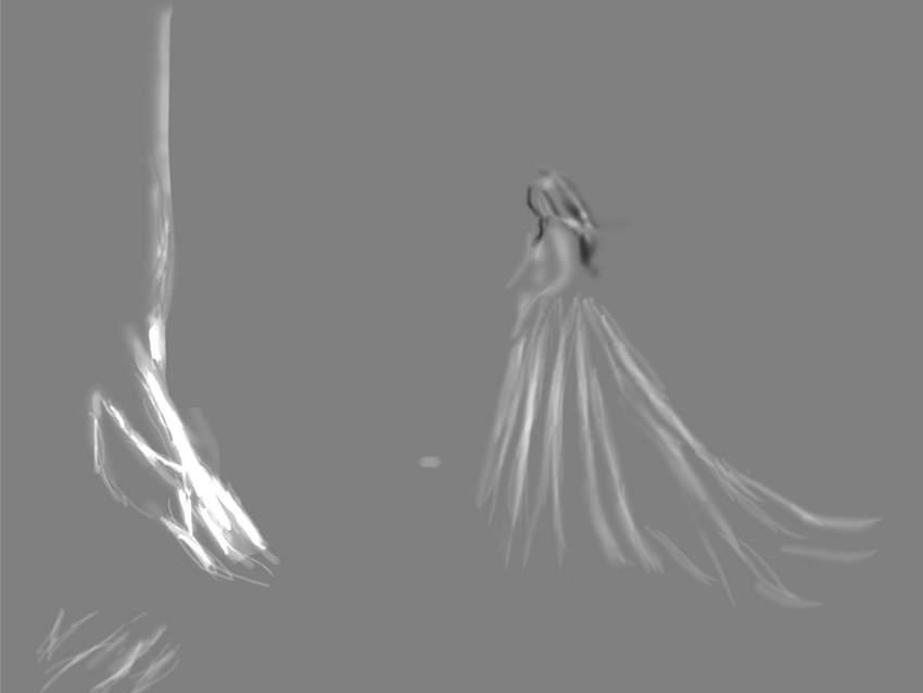 fantasy digital art - wole scene D and B normal mode