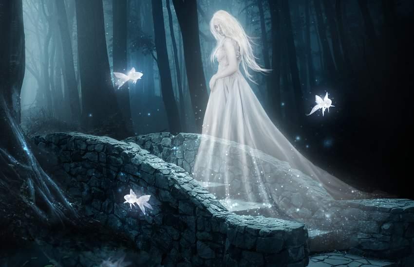 fantasy digital art - dots outer glow result