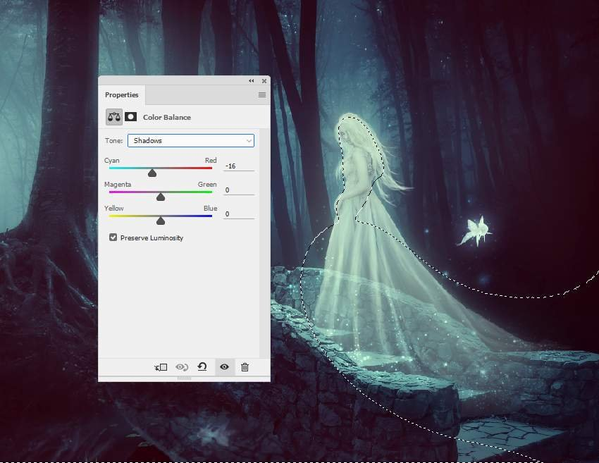 fantasy digital art  - whole scene color balance 2