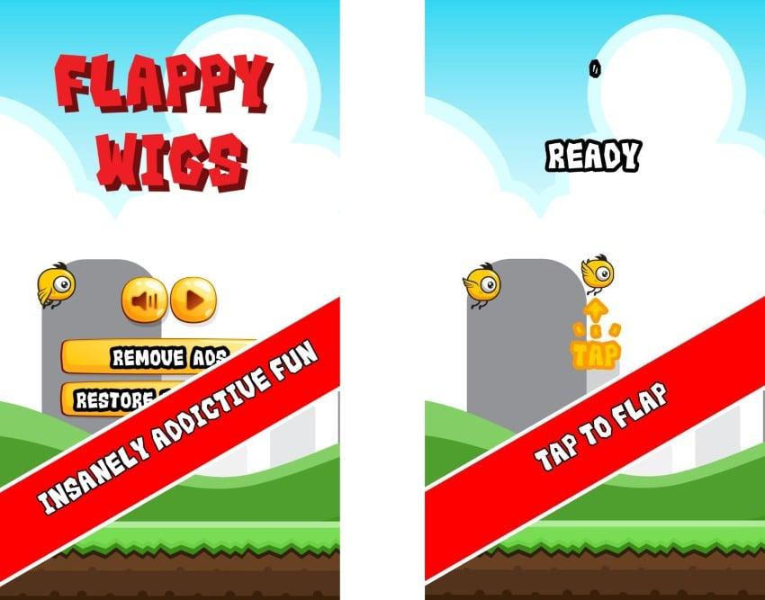 Flappy Wigs