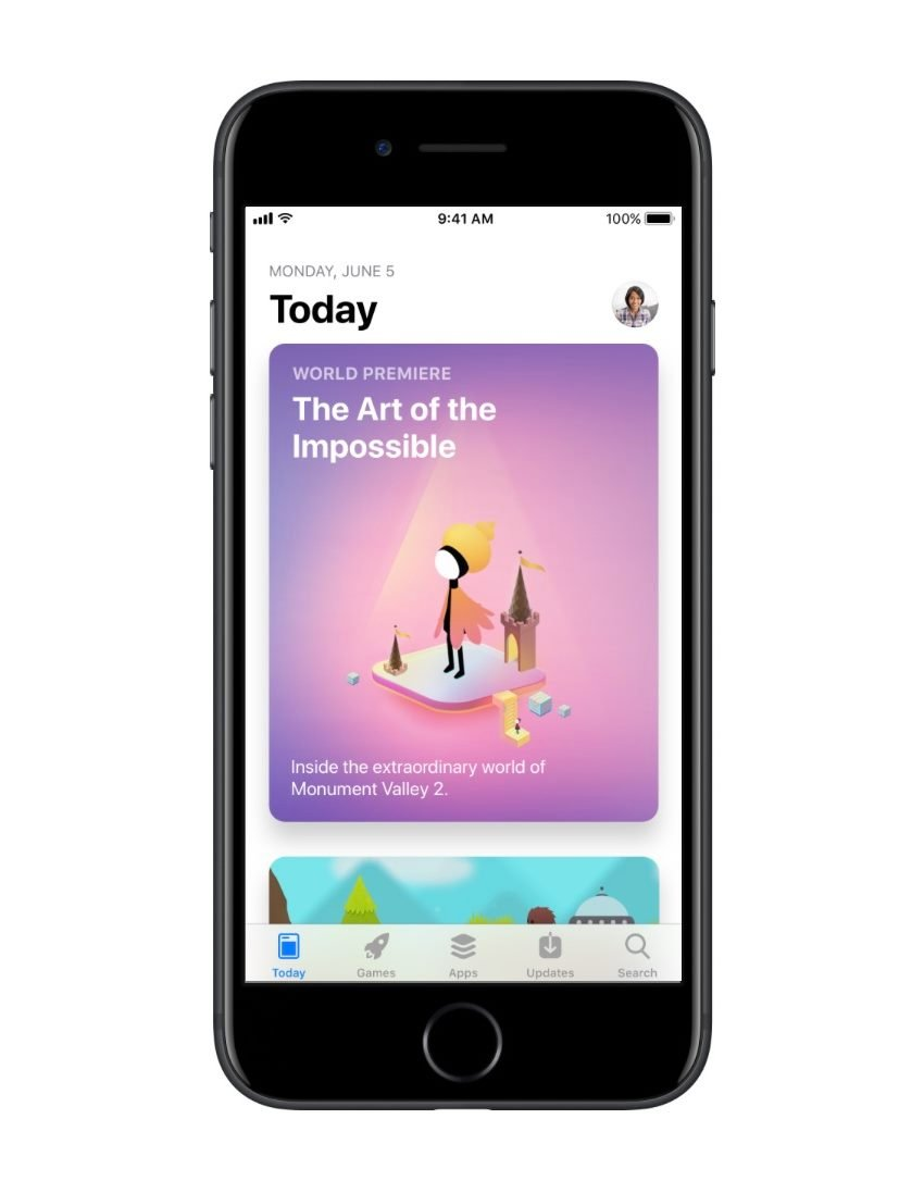 The new App Store Today Screen source Apple