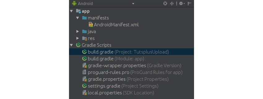 buildgradle file