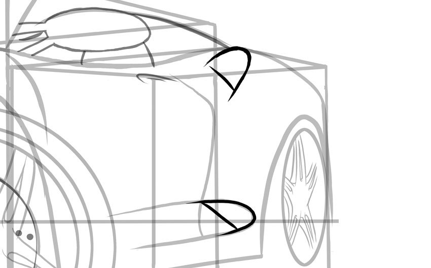 Notice these vents are either placed or direct air towards the rear wheel