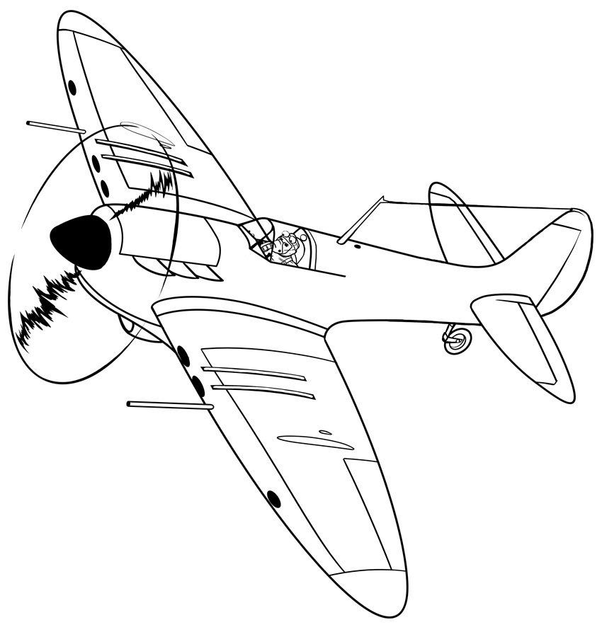 And at last we have a completed Supermarine Spitfire