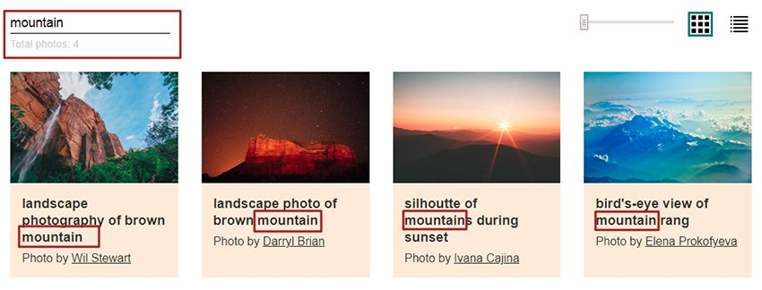 Find images which have the word mountain in their description