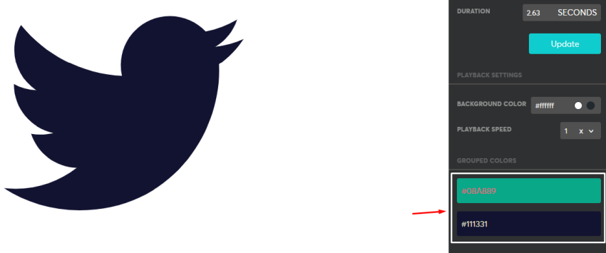 Customizing twitter's layer colors