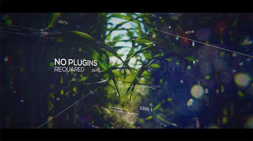 Technology Glitch Slideshow