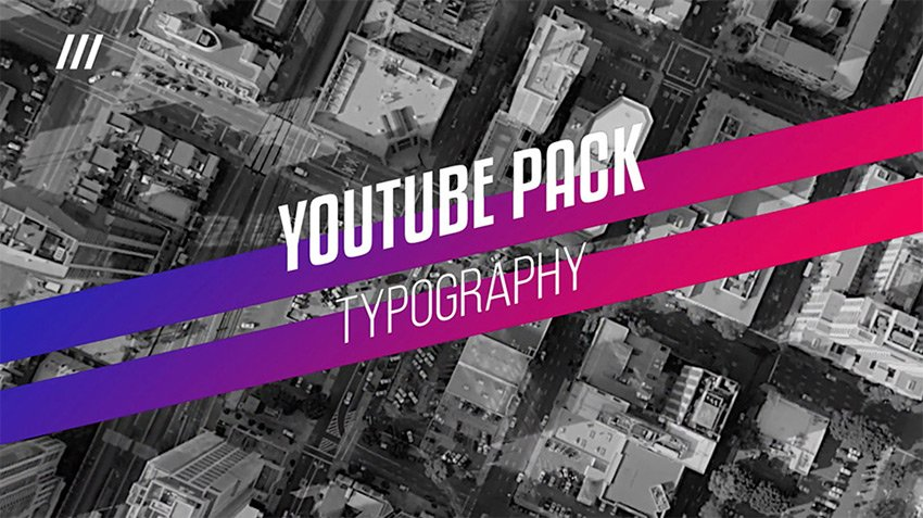 youtube typography example
