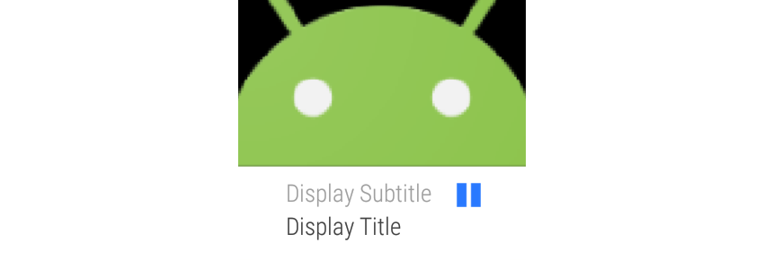 Media notification on Android Wear