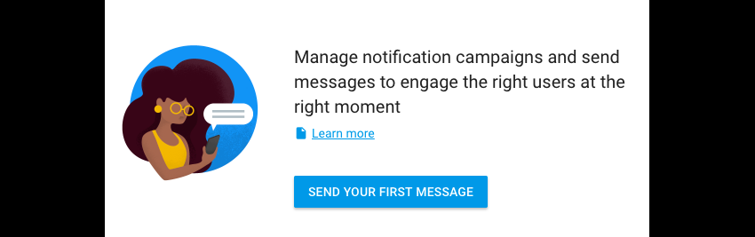 Prompt before sending your first Firebase notification