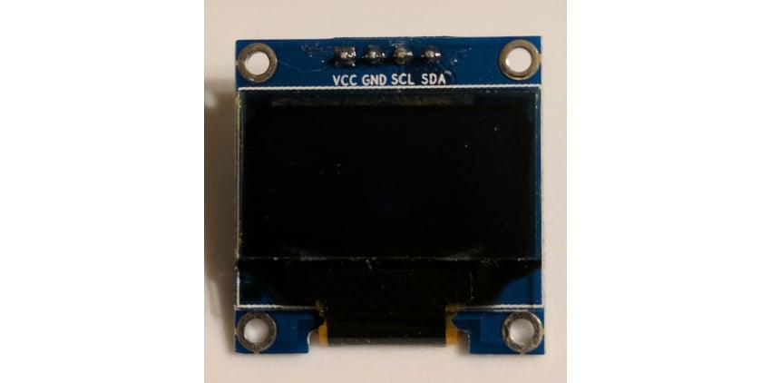 I2C OLED component