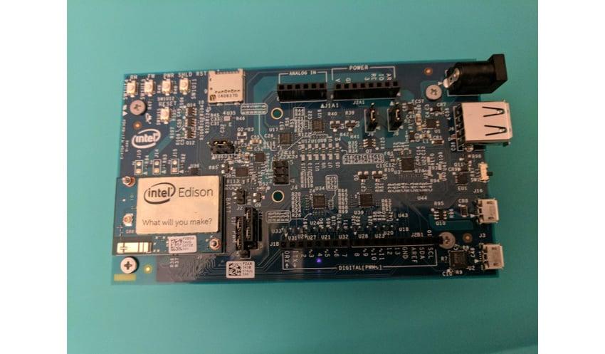 Intel Edison with Arduino Breakout Prototyping Board