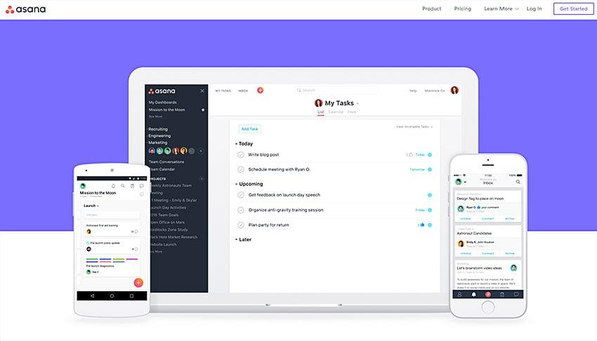 asana online project management app