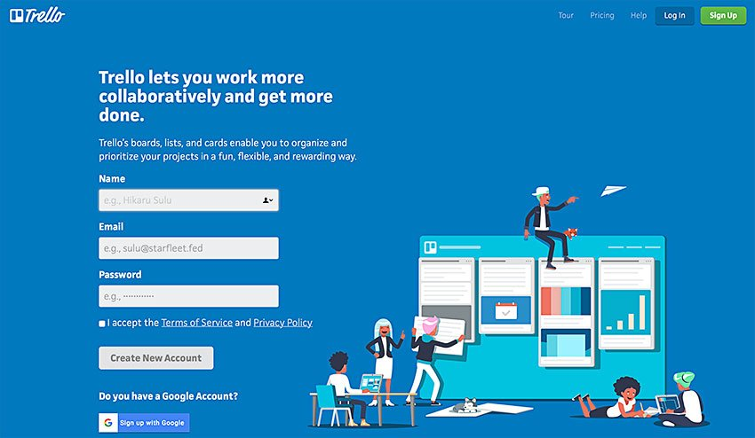 trello online collaboration and task tool