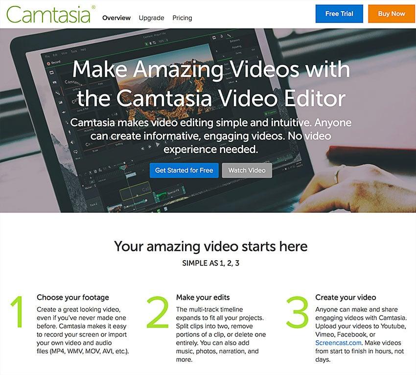 camtasia studio screen recording software