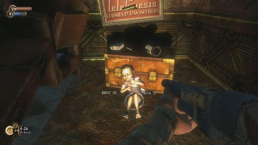 Bioshock gameplay