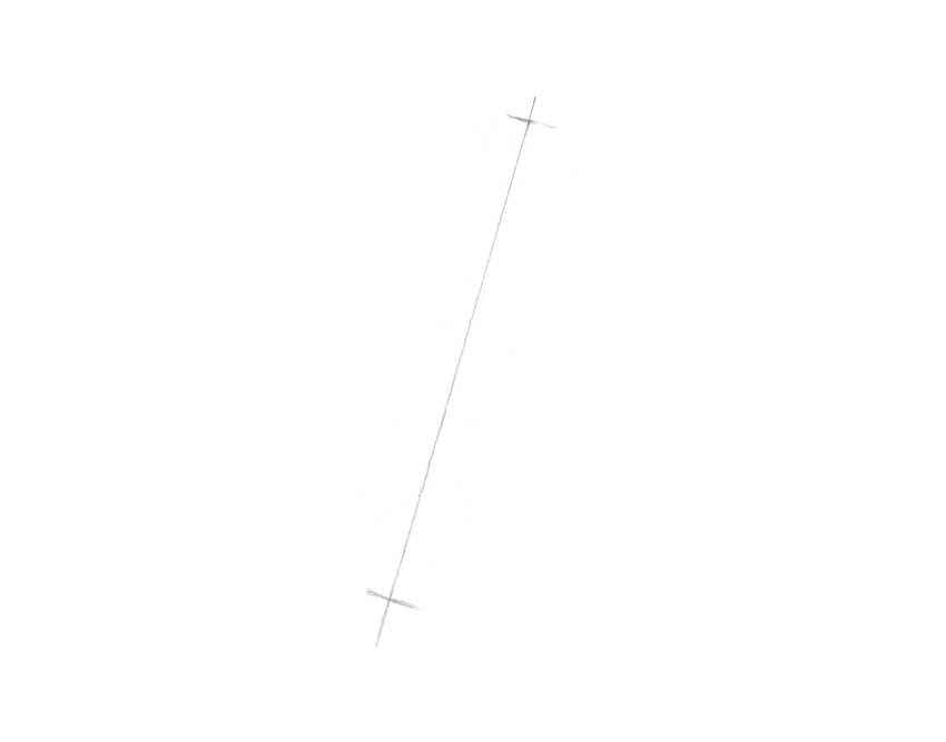 Drawing the axis line