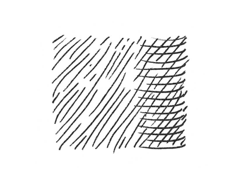 A contour hatching example