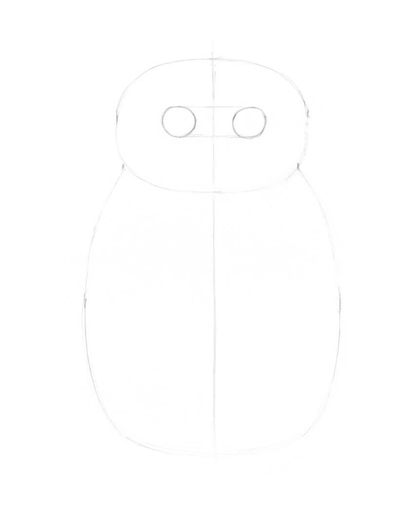 Adding the eyes shapes