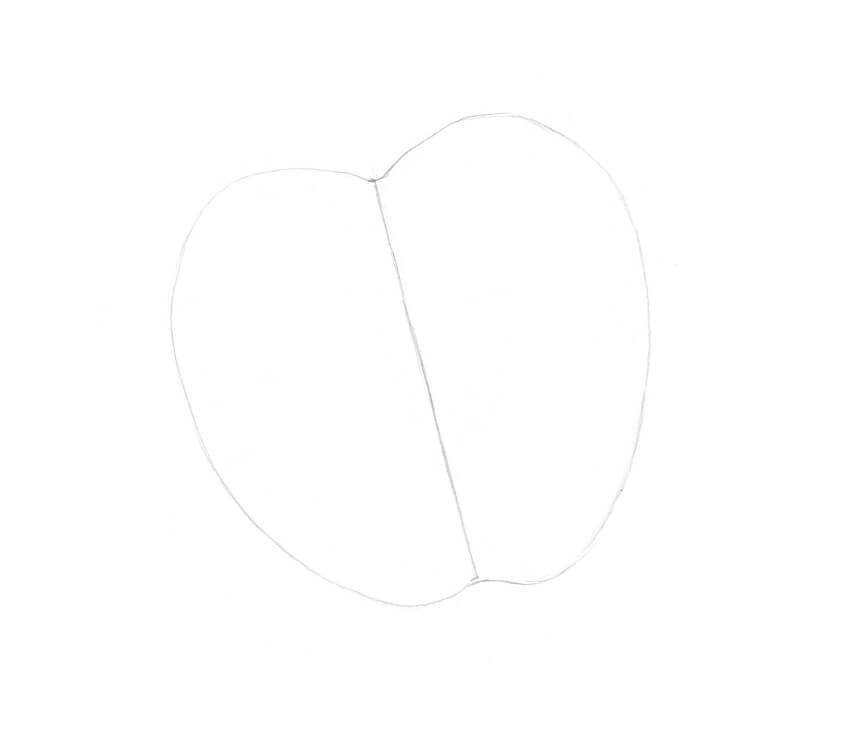 Sketching the core line and rough contours