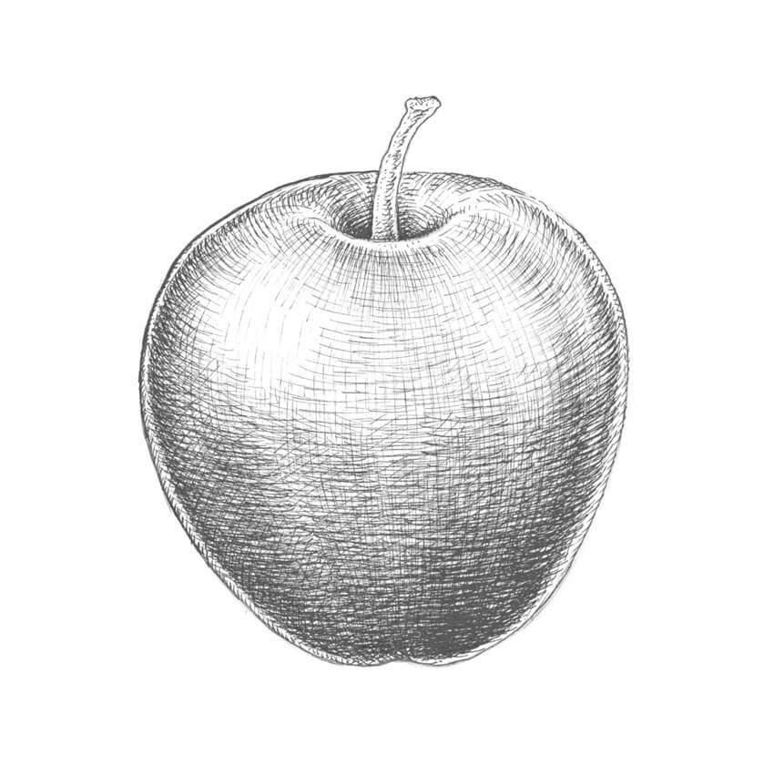 Darkening the apple