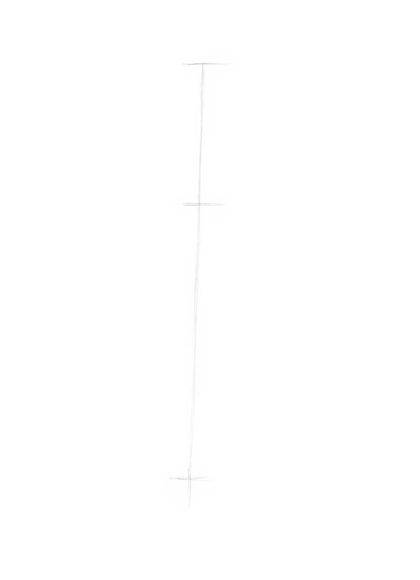 Drawing the core line
