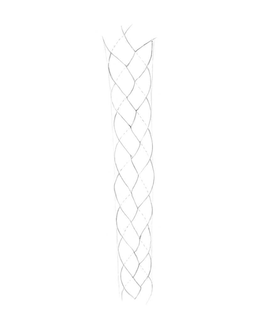 Completing the shape of the braid