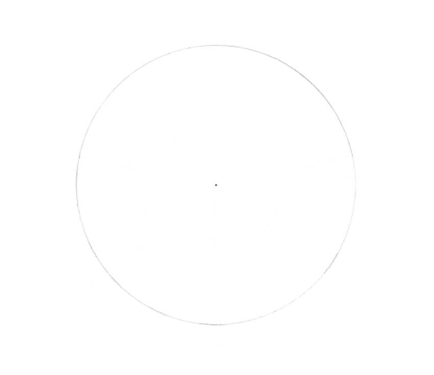 Drawing the circle