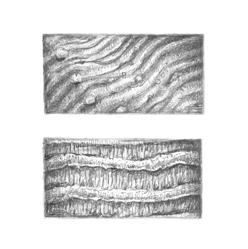 The examples of texture