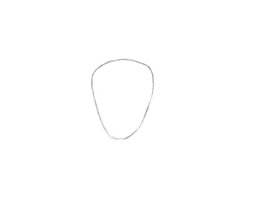 Drawing the shape of the head