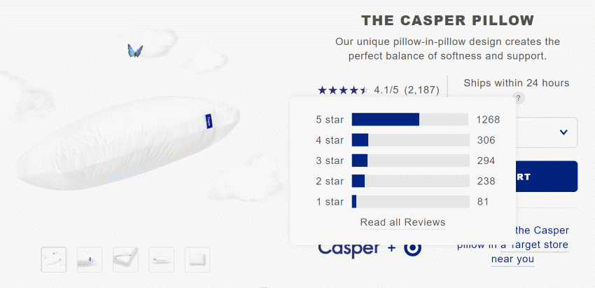 Caspers social proof
