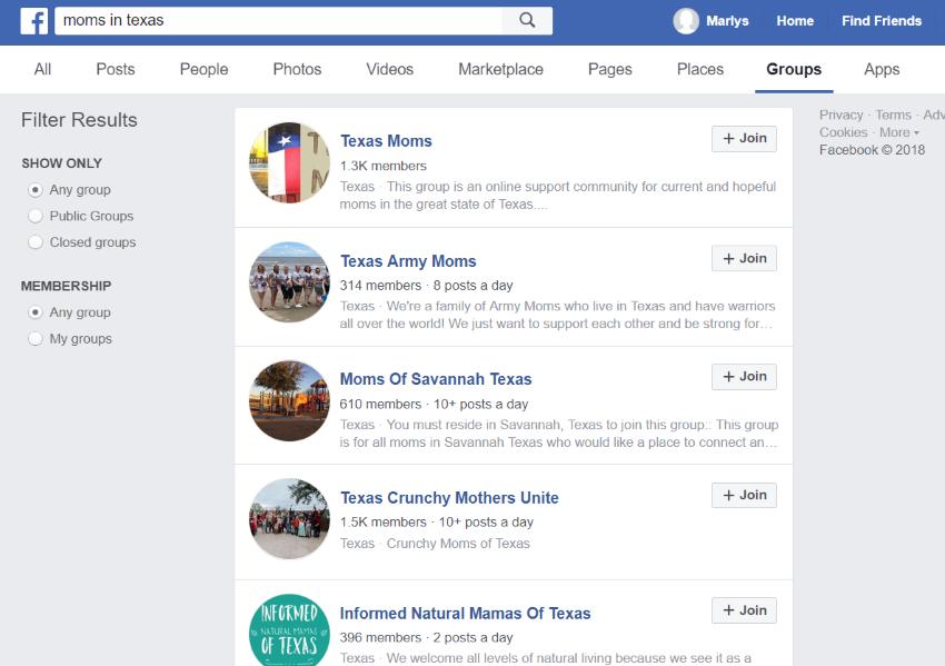Free website promotion in Facebook groups