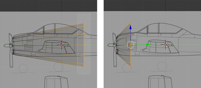 Move vertices to match reference