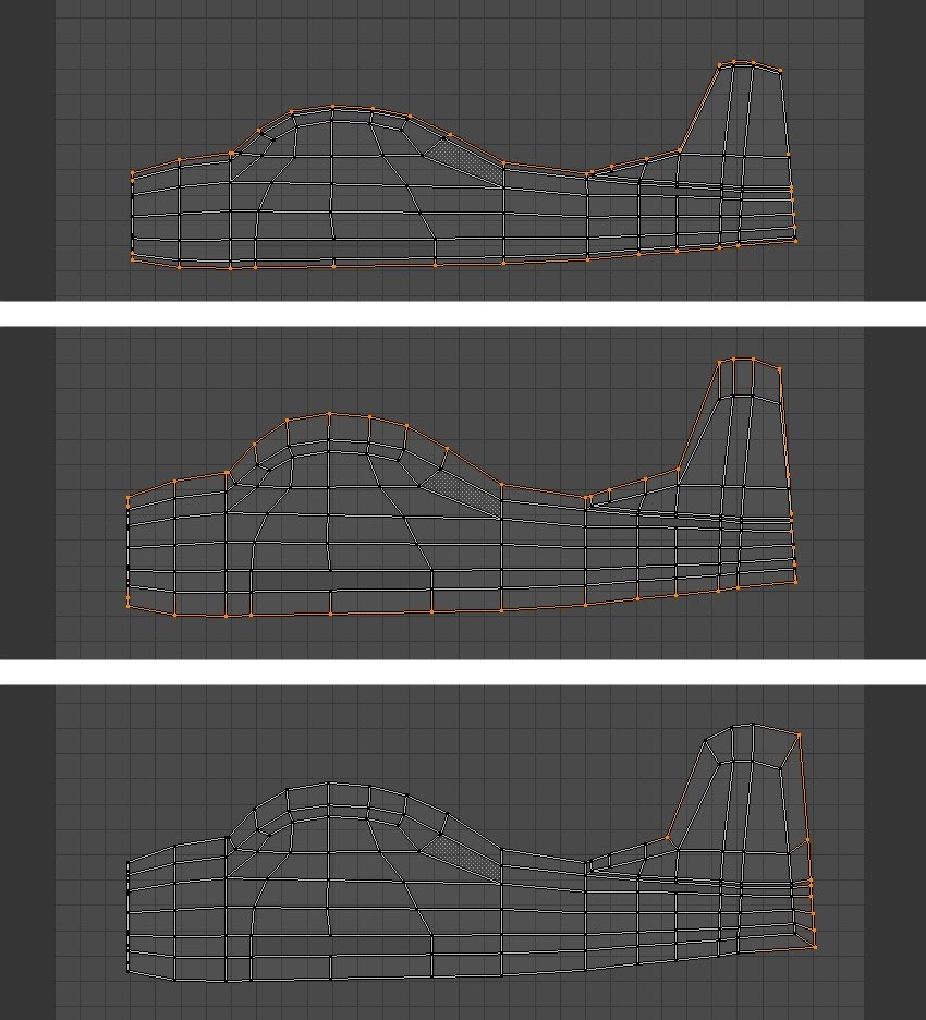 Tweak the vertices in UV Editor