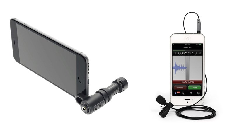 Smartphones with microphones